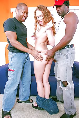 Little Leighlani Red wasn't afraid to invite the Monsters of Cock up
