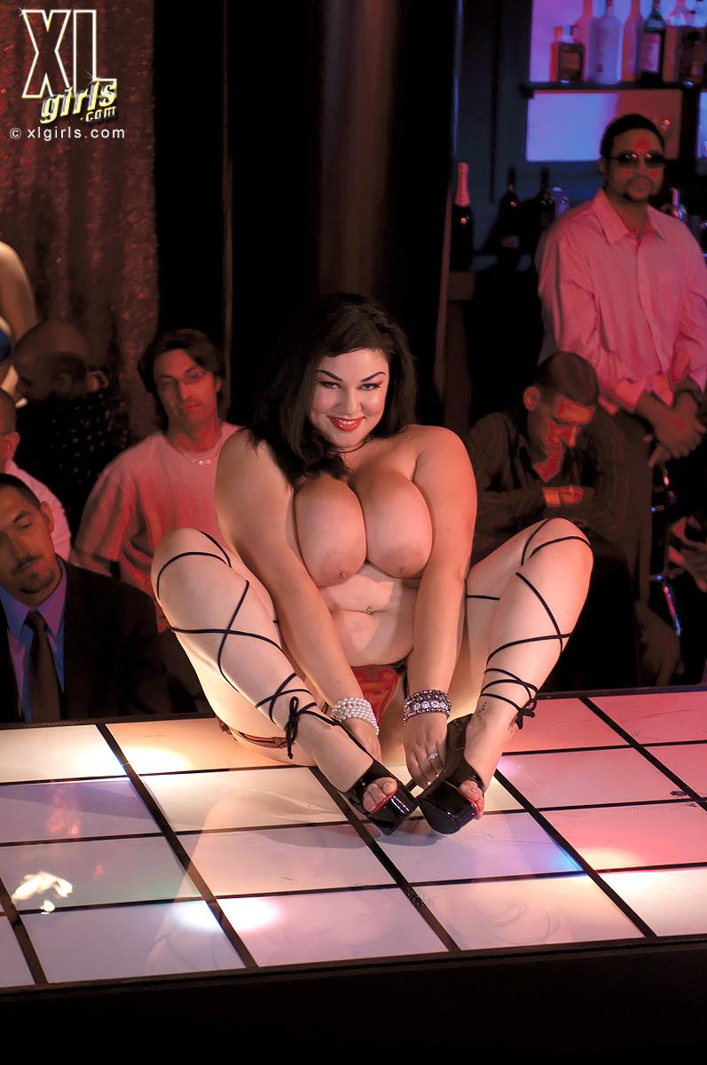 Club porn strip