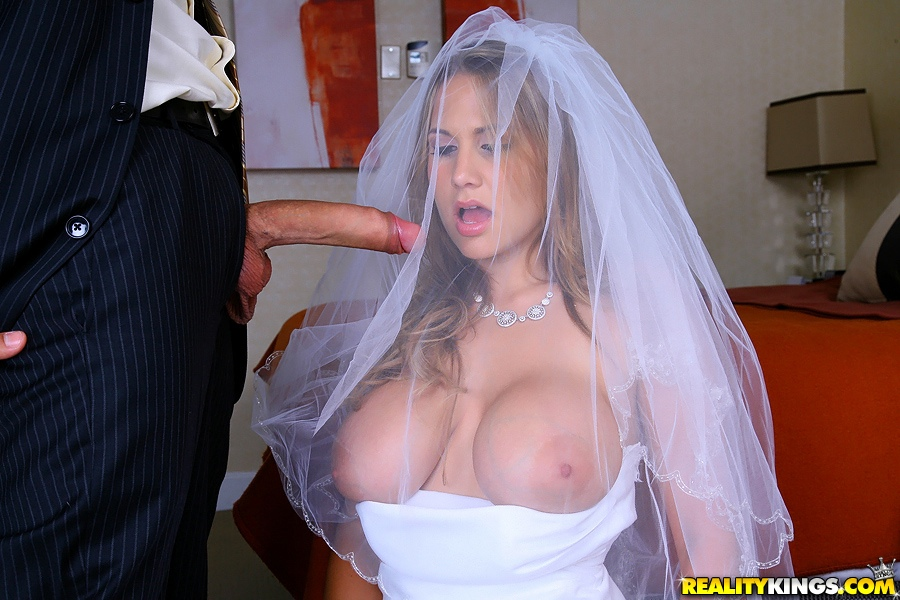 Tits busty bride xxx pictures and