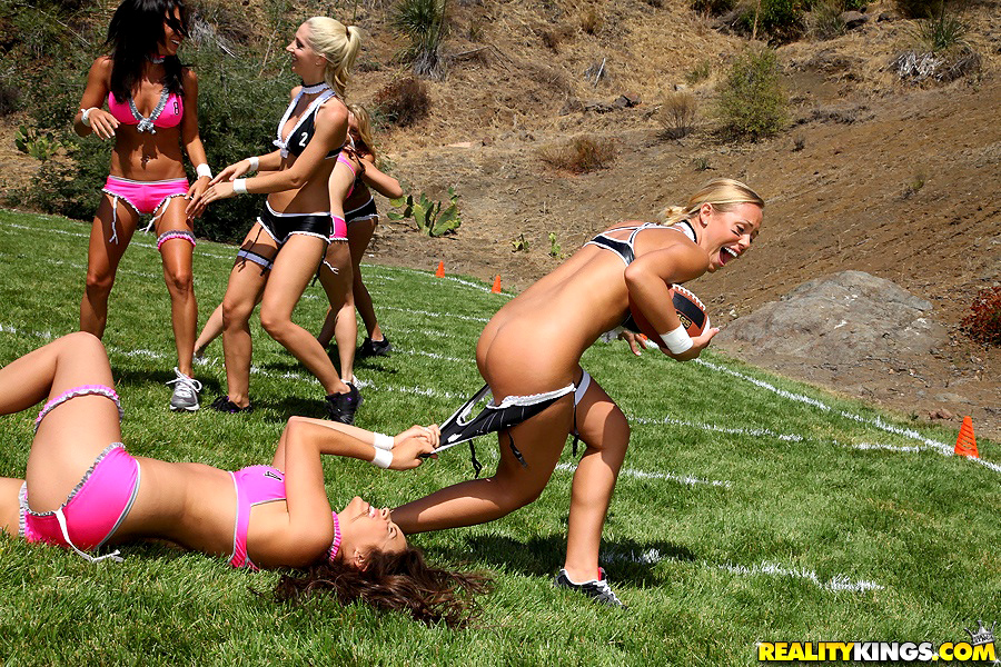 Lesbian football porn