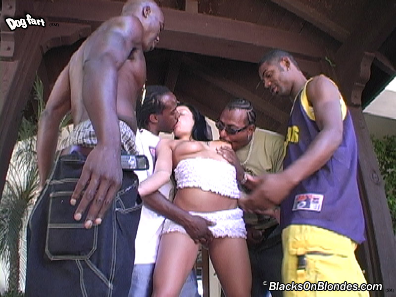 Interracial Gang Bang Dp