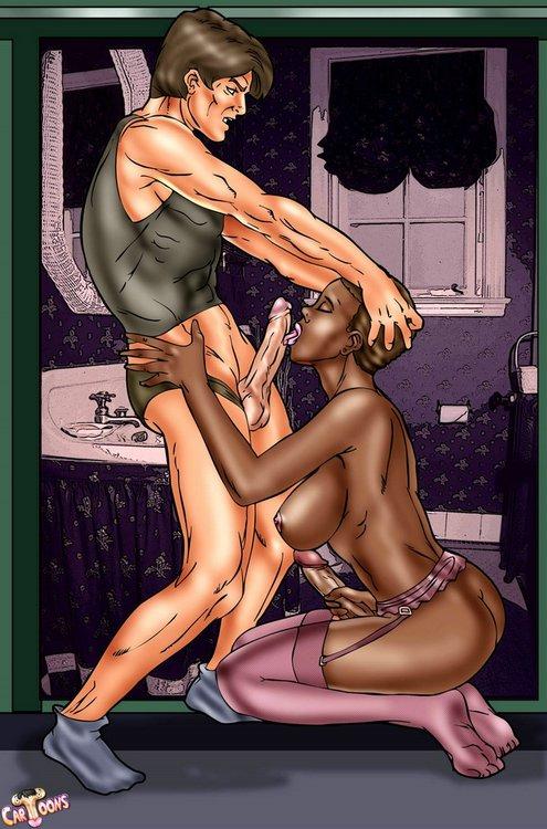 Ebony shemale hentai