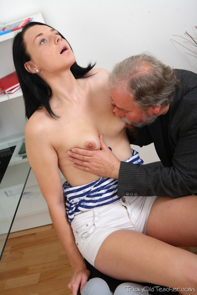 Dirty old teacher porn