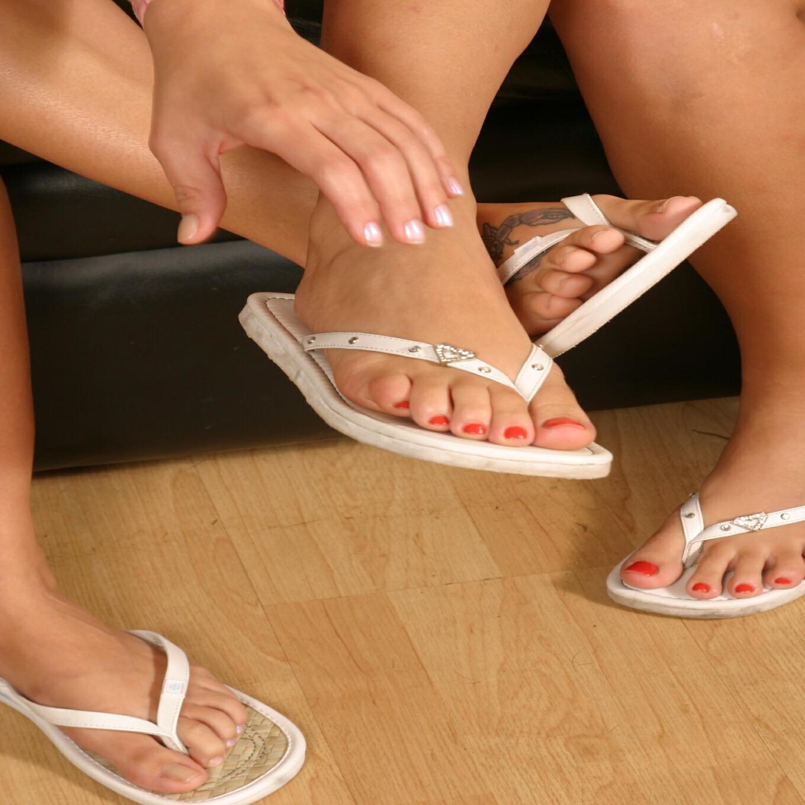 Foot Fetish Lesbian Sex