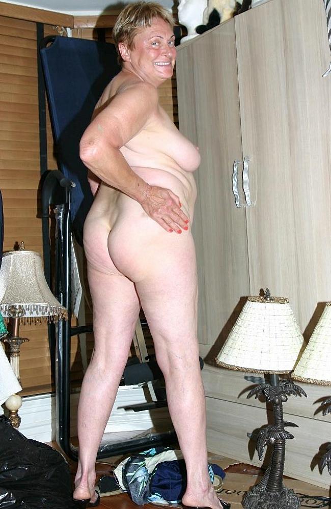 Horny ass grandma